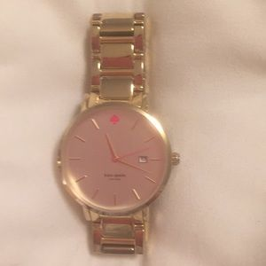 Katespade gold watch